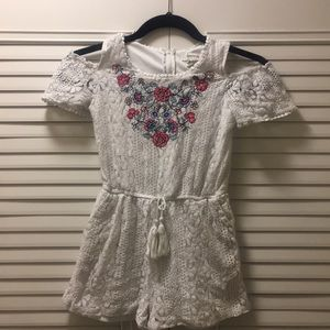 Other - Youth size small girls Lace romper